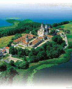 Wigry, Klasztor. Poland