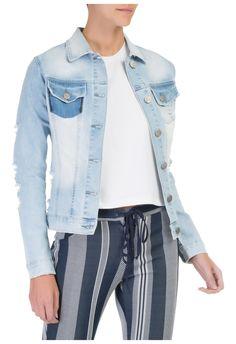 COSTUME - Jaqueta jeans destroyed - OQVestir