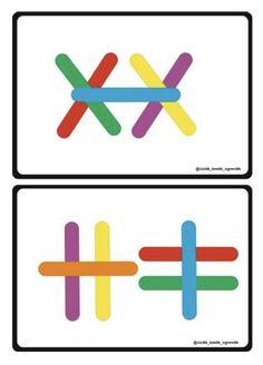 Preschool Printables, Teaching Kindergarten, Preschool Worksheets, Preschool Activities, Toddler Learning Activities, Book Activities, Visual Perception Activities, Fun Worksheets For Kids, Math Patterns