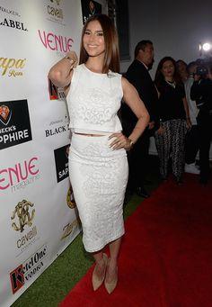 Roselyn Sanchez Attends Venue Magazine July/August Cover Party