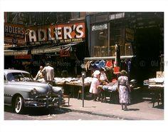 New York  1950's  Adler's Store front