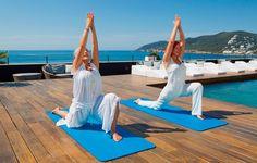 Tailored Yoga classes on a luxury solo holiday to Aguas de Ibiza, on the island of Ibiza, Spain. Physical Fitness, Yoga Fitness, Health Fitness, Yoga Hotel, Ibiza Formentera, Wellness Club, Premier Hotel, Ibiza Town, Yoga Holidays