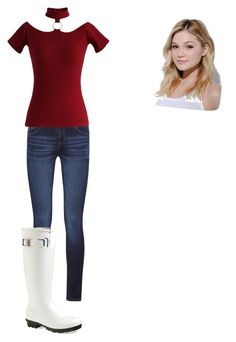 """Olivia Holt 19th Birthday. Happy Birthday Olivia Holt!:D"" by mahayla-huff ❤ liked on Polyvore featuring DL1961 Premium Denim, Neutrogena, Chicwish and Moncler"