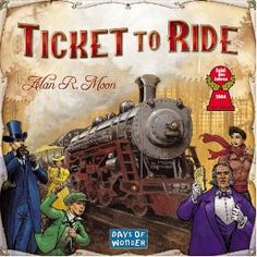 Ticket To Ride, (board game, strategy game, ticket to ride, games, fun, educational game, game of the year, trains, educational, eurogame)