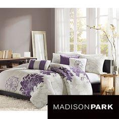 Madison Park Bridgette 6-piece Duvet Cover Set | Overstock.com Shopping - Great Deals on Madison Park Duvet Covers