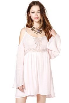 Talia Dress - Blush | Shop Dresses at Nasty Gal