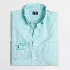J.Crew+Factory+-+Factory+washed+shirt+in+end-on-end