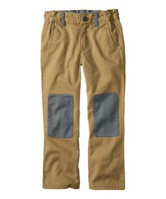 Another great find on #zulily! Treehouse Knee Patch Twill Pants - Infant, Toddler & Boys #zulilyfinds