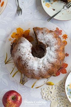Apple Chocolate Marble Bundt Cake