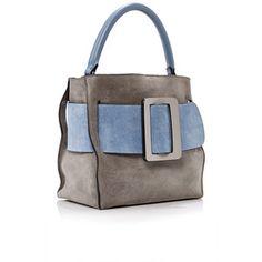 Colorblock Suede Devon Bag | Moda Operandi