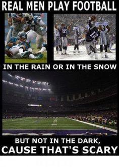 Real men joke picture - LOL!