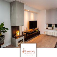 Home Living Room, Living Room Designs, Internal Design, Fireplace Design, Building Design, Future House, Interior And Exterior, Foyer, Sweet Home