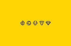Diamond Logo, Diamonds, Rough Diamond, Design, Gem Logo