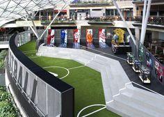 #Nike Football Stadium