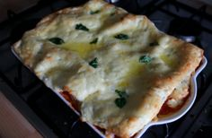 Butternut squash lasagne - vegetarian, Slimming World, low fat