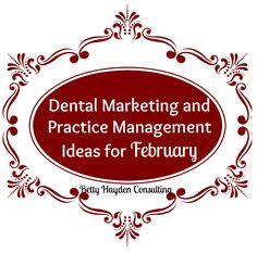 Social Media Posts -February Dental Marketing Ideas - Dental ideas - Heart health month, random acts of kindness and more