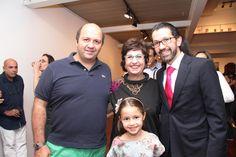 Roberto Eid, Vilma Eid, Fernando Eid e Manuela Eid