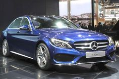 New Mercedes C-Class at Beijing Motor Show 2014.