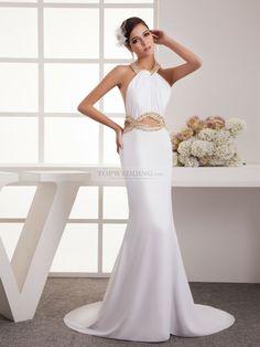 Rhinestone+Featured+Halter+Chiffon+Evening+Dress+with+Cutout+Design