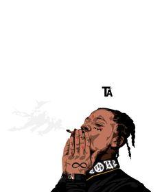 #trillart #trippiered #artwork Dope Cartoon Art, Dope Cartoons, Chris Brown Art, Trill Art, Trippie Redd, Dope Art, Travis Scott, Thug Life, Art Tips