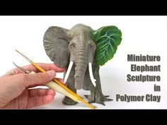 Hey Pretty! Click Me! :) Watch me sculpt Daeralda, an elephant/tree creature from fimo polymer clay. Not a tutorial per se, as I sculpt in a flow. media = wi...