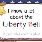 Freebie! Teach your students interesting facts about our nations Liberty Bell while completing an engaging students in a craft! They will have so much fun t...