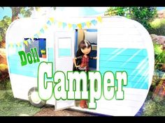 How to Make a Doll Camper - EXTREME Doll Crafts - YouTube