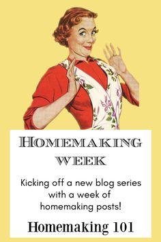 First Annual Homemaking Week! #homemaking #home #cleaning #housework #homemaker New Mobile Homes, True Homes, Toddler Preschool, Family Love, News Blog, Homemaking, Clean House, Cleaning, Kitchen Recipes