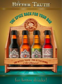 The Bitter Truth Bitters Spice Rack