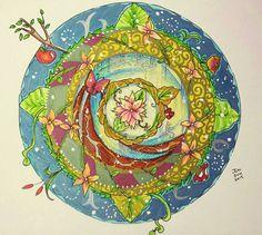 Mandala  by JuhJuh1959