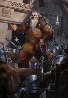 m Dwarf Rogue Thief Royal Spy Leather Armor Cloak Longsword male urban City street Dwarf Royal Guards story lg Fantasy Dwarf, Fantasy Rpg, Medieval Fantasy, Character Concept, Character Art, Concept Art, Character Inspiration, Fantasy Races, High Fantasy