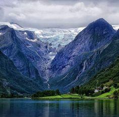 Briksdalsbreen Glacier, Norway