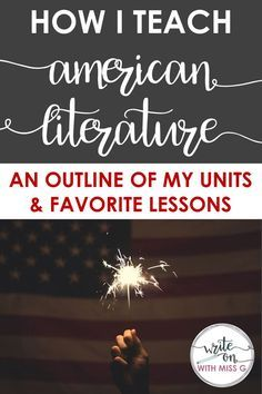 Teaching American literature: An outline of units of study and engaging activities for a high school American literature course High School Classroom, Homeschool High School, English Classroom, Homeschooling, English Teachers, Classroom Ideas, Future Classroom, English Literature Classroom, Ib Classroom