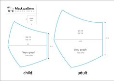 Mouth Mask Diy Pattern – Pins on the Agenda 2020 Small Sewing Projects, Sewing Hacks, Sewing Tutorials, Sewing Crafts, Sewing Patterns Free, Free Sewing, Free Pattern, Pattern Sewing, Diy Mask