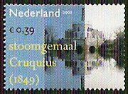 2002: Steam Pump Watermill Cruqulus (הולנד) (Industrial heritage) Mi:NL 2035,Yt:NL 1958