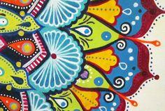 Modern Mandala by tuffjulz on Etsy, $175.00