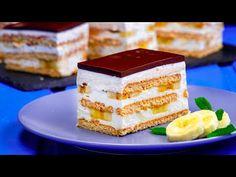 No Cook Desserts, Dessert Bars, Tiramisu, Mai, Cheesecake, Deserts, Cooking, Ethnic Recipes, Youtube