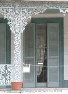 Someone in the window at the Myrtles Plantation home?