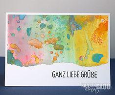 Karten-Kunst » Bunte Grüße