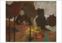 Edgar Degas, The Milliners, c. 1882 notecard