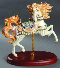 Lenox Spring's Glory Carousel Horse