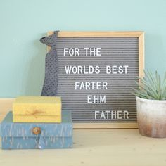 5 x sustainable gifts for father's day - Chalk Art İdeas in 2019 Funny Mom Memes, Funny Quotes For Teens, Quotes For Kids, Mom Humor, Funny Humor, Baby Humor, Funny Stuff, Gifts For Father, Fathers Day