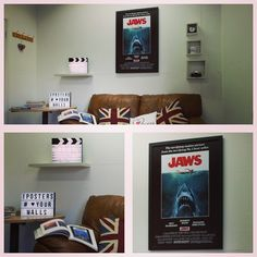 Google iPosters for 1000's of poster notice boards. Cork or magnetic! #posters #poster #interiordecor #jaws #shark #sharkattack #movies #loveyourwalls #iposters #stevenspielberg