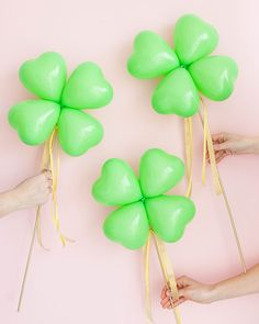 Clover Balloon Sticks DIY