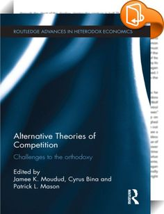 "Alternative Theories of Competition    ::  <P>The history of policymaking has been dominated by two rival assumptions about markets. Those who have advocated Keynesian-type policies have generally based their arguments on the claim that markets are imperfectly competitive. On the other hand laissez faire advocates have argued the opposite by claiming that in fact free market policies will eliminate ""market imperfections"" and reinvigorate perfect competition. The goal of this book is to..."