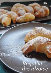 In my coffee kitchen: Rogaliki drożdżowe French Toast, Breakfast, Food, Morning Coffee, Meals, Morning Breakfast