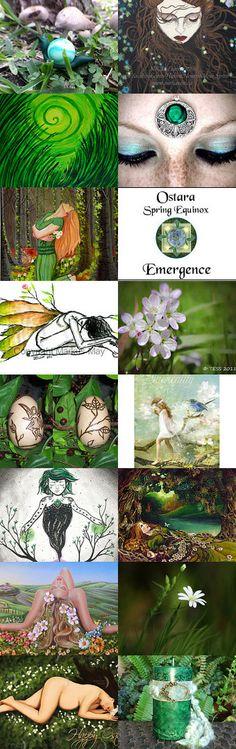 Ostara ~The Spring Awakening ~ by Kathy Carroll on Etsy--Pinned with TreasuryPin.com  #giftideas #freshfinds