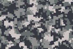 digital camouflage: vector background of grey digital camoflage pattern