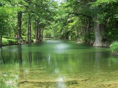 Texas Hill Country Rivers