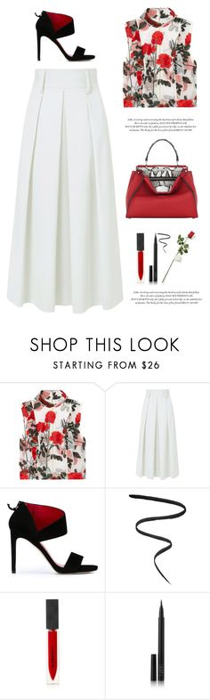 """""""..."""" by yexyka ❤ liked on Polyvore featuring Ganni, TIBI, Stuart Weitzman, Elle Macpherson Intimates, Smith & Cult, Burberry, NARS Cosmetics and Hanky Panky"""